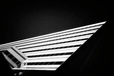 Surrealism Royalty-Free and Rights-Managed Images - Odd Triangle Shaped Building Boston Massachusetts by Dr Dapper