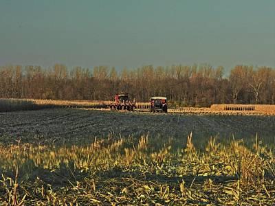 Photograph - Ohio Harvest #4 by Robert Worth