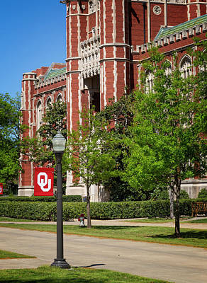 Dainty Chairs Fashions Sketches - Oklahoma University Campus 4 by Ricky Barnard