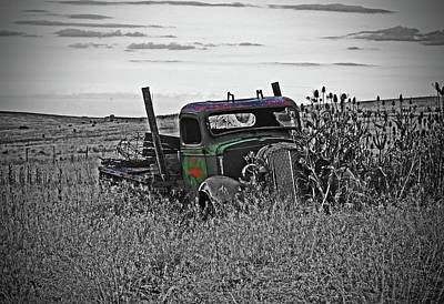 Firefighter Patents - Old Abandon Farm Truck by Fred Loring