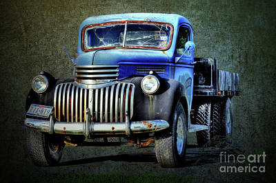 World Forgotten Rights Managed Images - Old American Pickup Truck  Royalty-Free Image by Savannah Gibbs