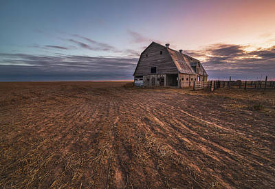 Royalty-Free and Rights-Managed Images - Old Barn Ready For A New Day by Darren White