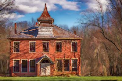 Katharine Hepburn - Old Barrack School 2 by Jim Love
