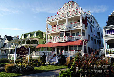 Spot Of Tea Royalty Free Images - OLD CAPE MAY B and B  Royalty-Free Image by Skip Willits