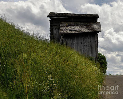 Classic Golf - Old Dolomite Barn by Norma Brandsberg