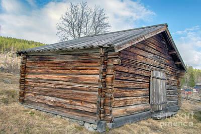 Antlers - Old Farm 1 by Torfinn Johannessen
