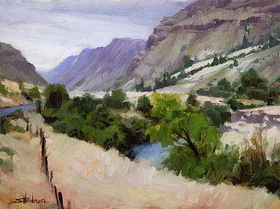Graduation Sayings - Old Fence Older River by Steve Henderson