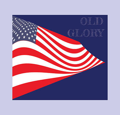 Royalty-Free and Rights-Managed Images - Old Glory by Greg Joens
