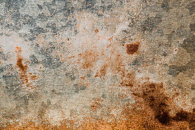 Curated Travel Chargers - Old Metal Iron Rust Background And Texture by Julien