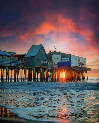Truck Art - Old Orchard Magical Sunrise by Dan Sproul