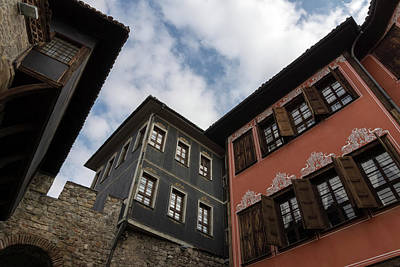 Book Quotes - Old Town Plovdiv - Revival Houses Hugging a Medieval City Gate  by Georgia Mizuleva