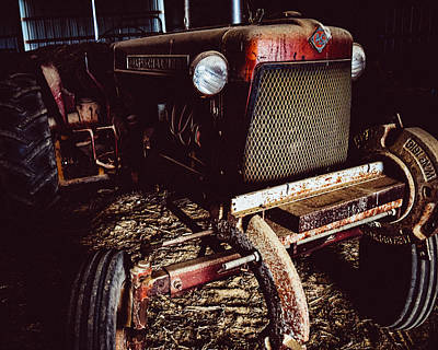 Photograph - Old Tractor by Bonny Puckett