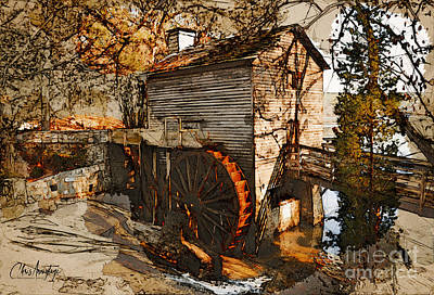 Bath Time - Old Watermill by Chris Armytage