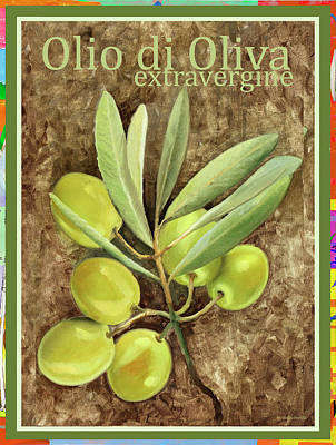 Royalty-Free and Rights-Managed Images - Olio Di Oliva Extravergine by Guido Borelli