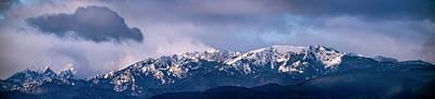 American Milestones - Olympic Mountain Cloudscape by Bob VonDrachek