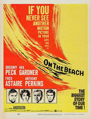 Royalty-Free and Rights-Managed Images - On the Beach 2, with Gregory Peck and Ava Gardner, 1959 by Stars on Art