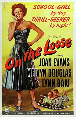 Royalty-Free and Rights-Managed Images - On the Loose movie poster 1951 by Stars on Art