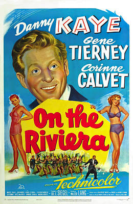 Royalty-Free and Rights-Managed Images - On the Riviera, with Danny Kaye and Gene Tierney, 1951 by Stars on Art