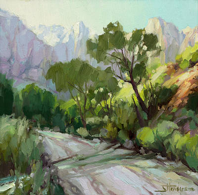 Royalty-Free and Rights-Managed Images - On the Temple Road by Steve Henderson