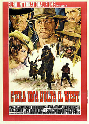 Royalty-Free and Rights-Managed Images - Once Upon a Time in the West, 1968 by Stars on Art