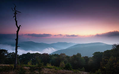 Photograph - One Blue Ridge Morning by Todd Henson