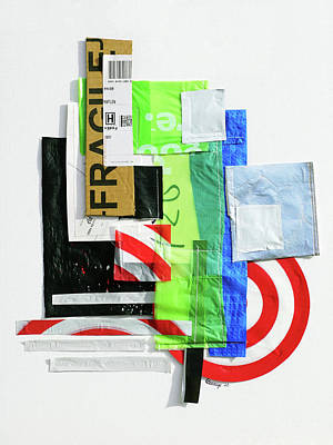 Mixed Media - One Man's Trash by Courtney Kenny Porto