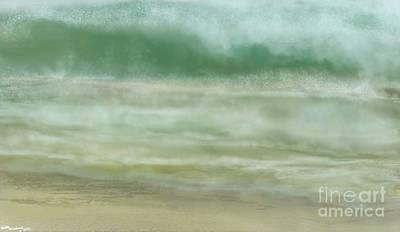 Car Photos Douglas Pittman - One Mighty Ocean swell by Julie Grimshaw