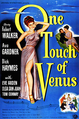 Royalty-Free and Rights-Managed Images - One Touch of Venus, with Ava Gardner, 1948 by Stars on Art
