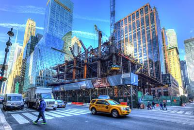 Outdoor Graphic Tees - One Vanderbilt Construction New York by David Pyatt