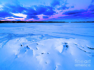 Royalty-Free and Rights-Managed Images - Onekama Dawn in Winter by Twenty Two North Photography