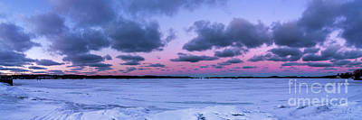 Royalty-Free and Rights-Managed Images - Onekama Winter Panorama by Twenty Two North Photography