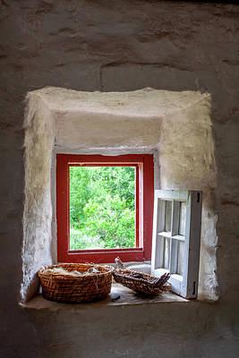 Sara Habecker Folk Print - Open Window by David Beard