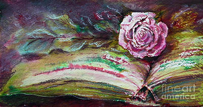 Painting - Opposites Attract - Red and Green Ink by Ryn Shell