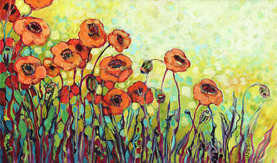 Royalty-Free and Rights-Managed Images - Orange Poppies by Jennifer Lommers