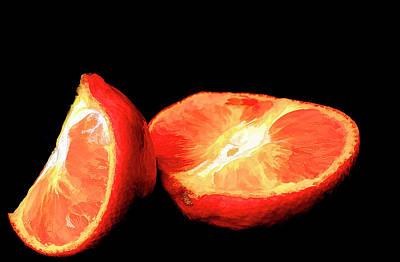 Wine Corks Royalty Free Images - Oranges Royalty-Free Image by Darren Wilkes