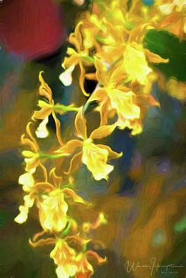 Digital Art - Orchid - 0849 by Wally Hampton