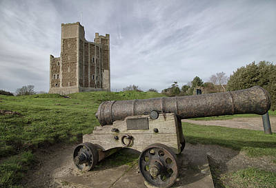 Fantasy Royalty-Free and Rights-Managed Images - Orford Castle by Martin Newman