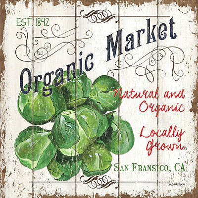Royalty-Free and Rights-Managed Images - Organic Farm Market 1 by Debbie DeWitt
