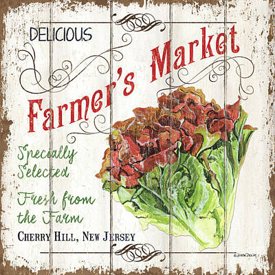 Royalty-Free and Rights-Managed Images - Organic Farm Market 3 by Debbie DeWitt