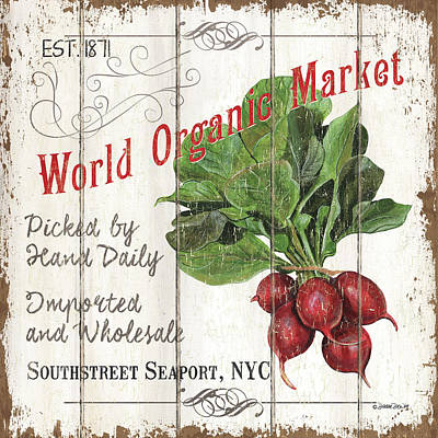 Royalty-Free and Rights-Managed Images - Organic Farm Market 4 by Debbie DeWitt
