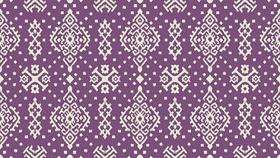 Royalty-Free and Rights-Managed Images - Oriental damask seamless pattern by Julien