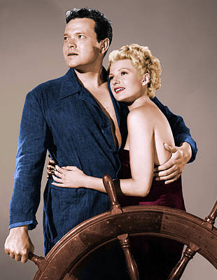 Royalty-Free and Rights-Managed Images - Orson Welles and Rita Hayworth by Stars on Art
