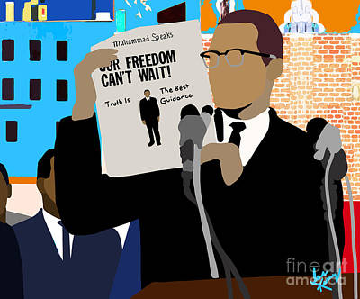 Digital Art - Our Freedom Can't Wait by Isis Kenney