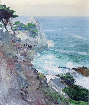 Thomas Kinkade - Out to Sea by Guy Rose 1867 1925 by Artistic Rifki