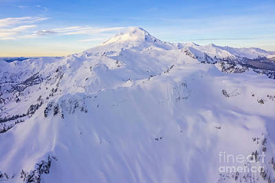 Royalty-Free and Rights-Managed Images - Over Table Mountain Towards Mount Baker by Mike Reid