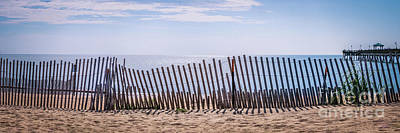Fruits And Vegetables Still Life - Over the Beach Fence - wide format by Robert Anastasi