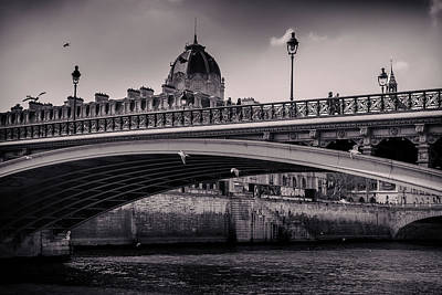 Sean Rights Managed Images - over the Seine Royalty-Free Image by Franck Olaya