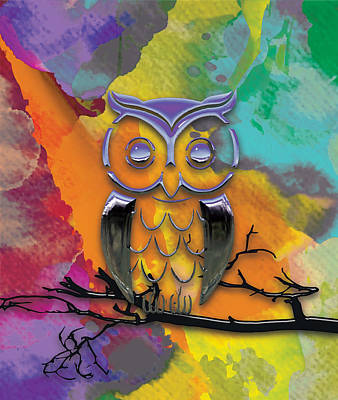 Outdoor Graphic Tees - Owl Dream by Marvin Blaine