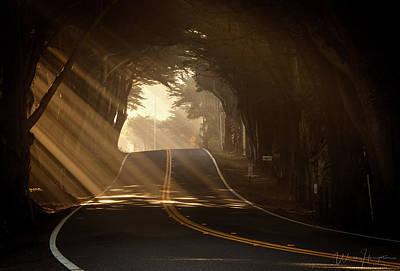 Photograph - Pacific Coast Highway One, California, USA - 8417 by Wally Hampton