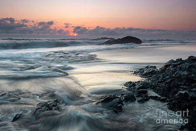 Amy Weiss - Pacific Coast Sunset by Mike Dawson